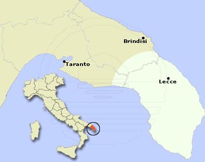salento - map