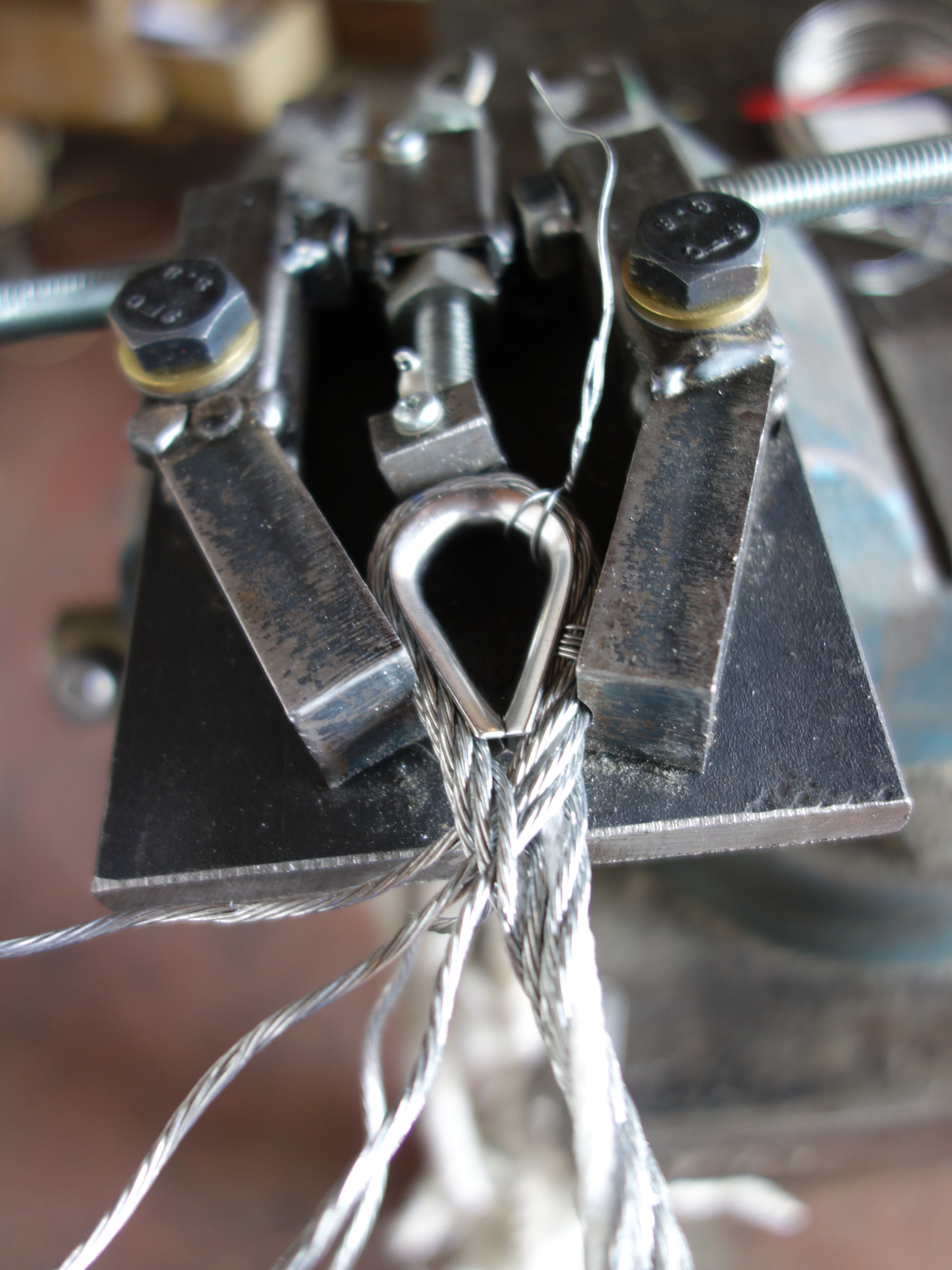 Splicing Wire Rope Loose Diary