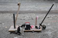 Irene Kharadze: Catapult after the shot