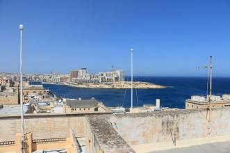 View towards Sliema